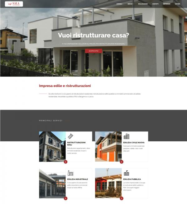 Sala Costruzioni Home Page