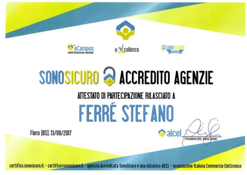 Certificato Aicel